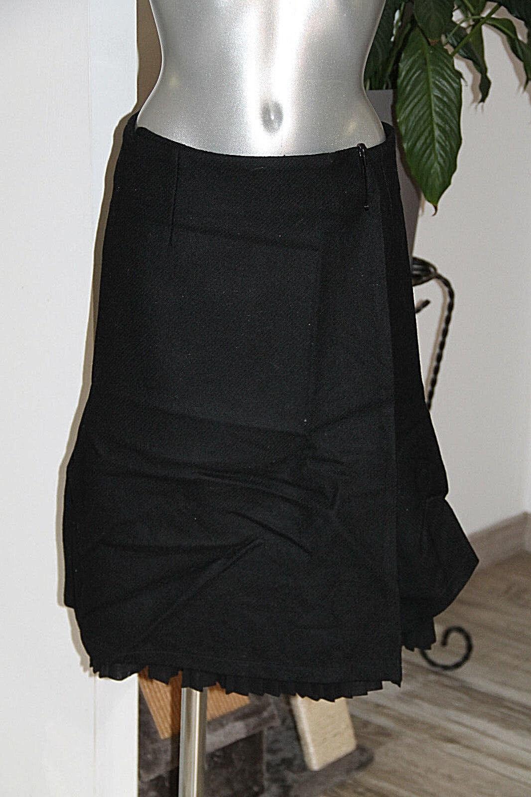 Luxueuse jupe portefeuille laine COMPTOIR DES COTONNIERS size 40 parfait état