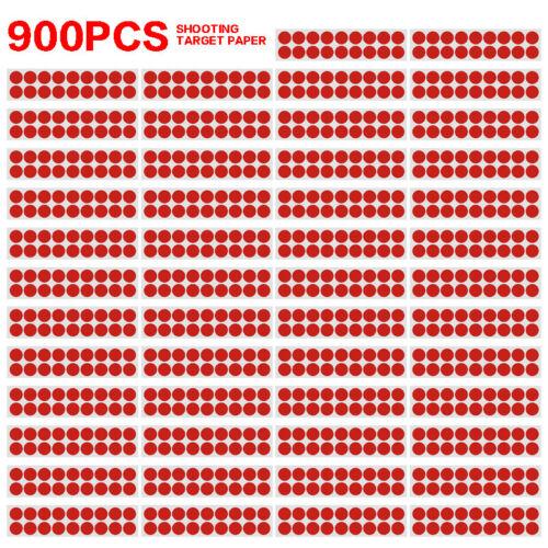 900PCS Shooting Target Paper Self-adhesive Archery Splatter Stickers 2cm