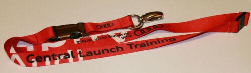 A49v Audi Central Launch Training Schlüsselband Lanyard NEU