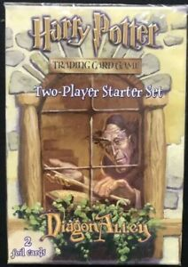 Diagon Alley SEALED RARE Harry Potter Trading Card Game Two Player Starter Set