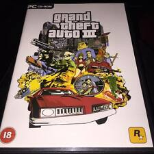 Grand Theft Auto 3 III  (PC CD ROM) complete with map and manual