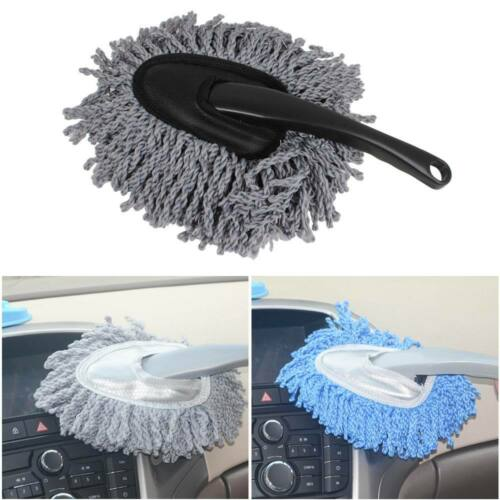 Vehicle Car Wash Duster Cleaning Dirt Dust Sweep Clean Brush Dusting Tool Grey