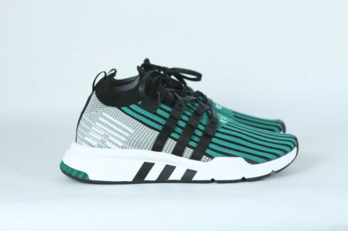 Adidas Original EQT Support MID ADV PK CQ2998 Sub Green//Black Mens US Primeknit