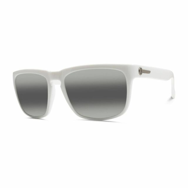 Electric Knoxville Xl Sunglasses Mens Alpine White Melanin Grey For