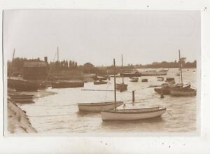 Salterns-Quay-Hayling-Island-Hampshire-Vintage-RP-Photo-Card-663b