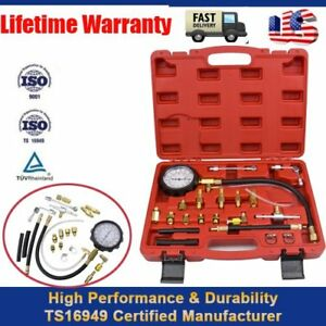 0-140-PSI-Petrol-amp-Diesel-Fuel-Injection-Pump-Injector-Tester-Pressure-Gauge-Kit