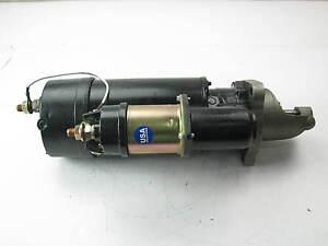 Reman usa industries 6516 12v 12t starter motor for Caterpillar 3406 starter motor