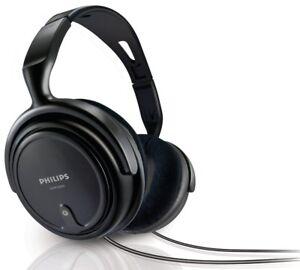 Philips-SHP2000-10-Wired-Corded-Over-Ear-Stereo-Headband-Headphones-Black-B