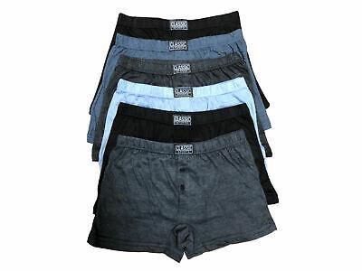 12 Pack Men's Cotton Rich Button Fly Boxer Shorts With 3 Pack Lycra Socks Hoher Standard In QualitäT Und Hygiene