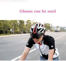 Road Bike Racing Bicycle Cycling Helmet Shockproof Outdoor SAHOO with Light