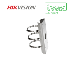 DS-2CD WD S Hikvision DS-1275ZJ Pole Mount Bracket for IP Camera DS-2CD42xxF -I