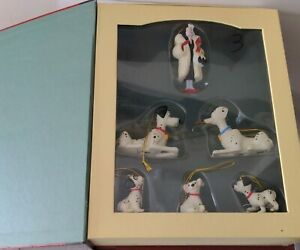 101 Dalmatians Disney's Storybook Christmas Collection ornaments set of 6