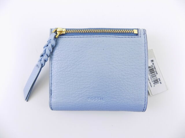 Fossil Women/'s Caroline RFID Mini Wallet Horison Blue SL7351436