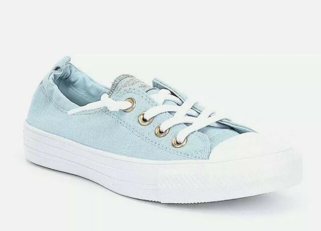 df764deafec0 NIB Converse CTAS Womens Ocean Bliss White Shoreline OX Sneakers Size 6  Shoes