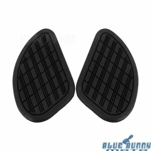2Pcs-Motorcycle-Vintage-Gas-Fuel-Tank-Knee-Pads-Side-Panels-Rubber-Universal-Fit