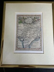 1683-Mogul-Empire-Framed-Map-Mughal-Empire