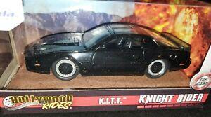 K-I-T-T-from-KNIGHT-RIDER-Jada-1984-Pontiac-Trans-Am-Diecast-Car-KITT