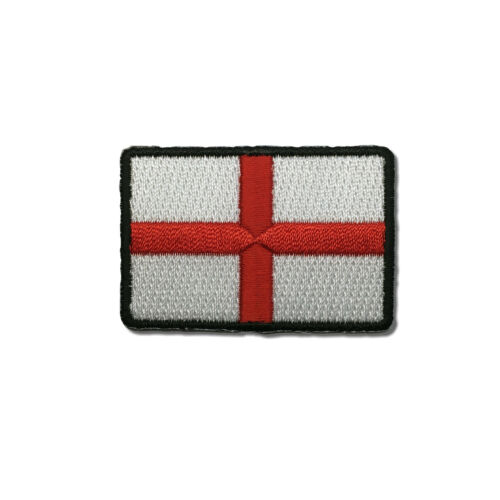 """2/"""" England English Flag St George/'s Cross Sew or Iron on Patch Biker Patch"""