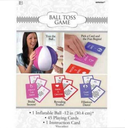 271125 Bridal Shower Ball Toss Party Game Kit by Amscan