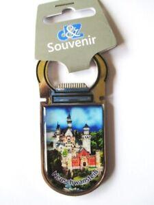 Schloss-Neuschwanstein-Flaschenoeffner-Magnet-Deutschland-Magnet-Metall