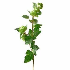 74cm artificial hop spray stem decorative flowers fake for Artificial hops decoration