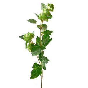 74cm artificial hop spray stem decorative flowers fake for Artificial hops decoration