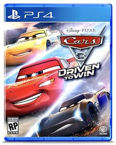 Cars 3 Driven to Win (PlayStation 4 PS4) BRAND NEW FACTORY SEALED Disney Pixar