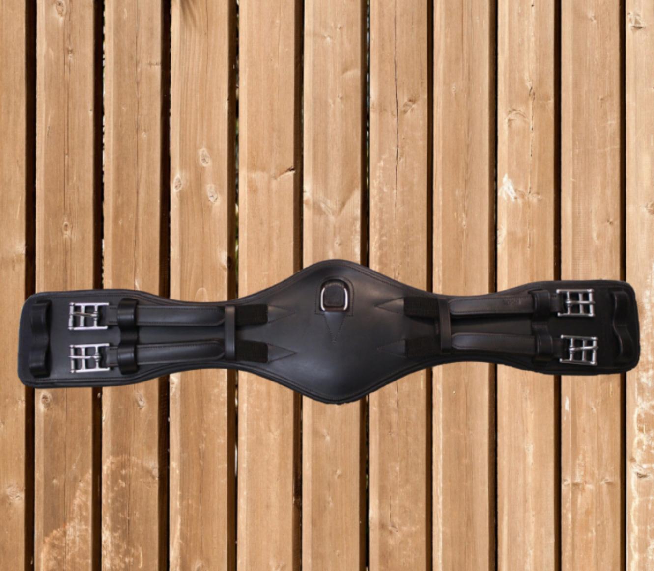 Passier Sattelgurt Leder havanna anatomisch,breites Gurtzentrum, Bauchgurt havanna Leder 66fce2