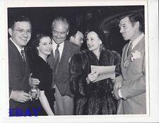 Vivien Leigh Carole Lombard Clark Gable RARE Photo Victor Fleming David Selznick