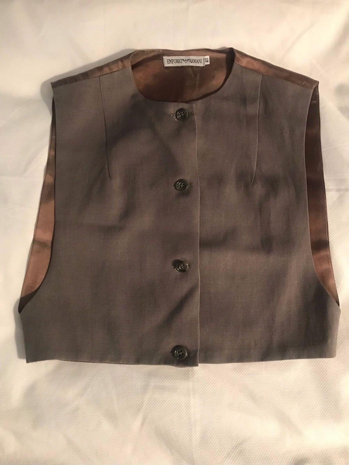 Vintage Emporio Armani Vest—Size 40