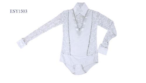 New Boys Black White Blue Ballroom Tango Waltz Latin Dance Outfit Shirt Pants