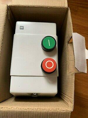 SECTOR 795501 11kw 25A 240V DOL Starter 2 Button Moulded ABS Enclosure IP65