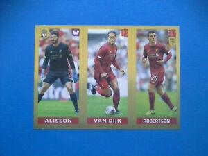 Figurine-Panini-Fifa-365-2019-20-2020-n-36-Alisson-VanDijk-Robertson-Liverpool