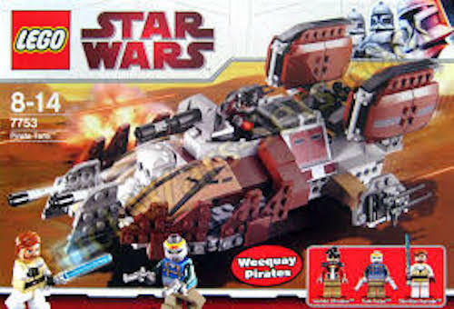 LEGO  STAR  WARS  PIRATE TANK   7753.  BRAND  NEW