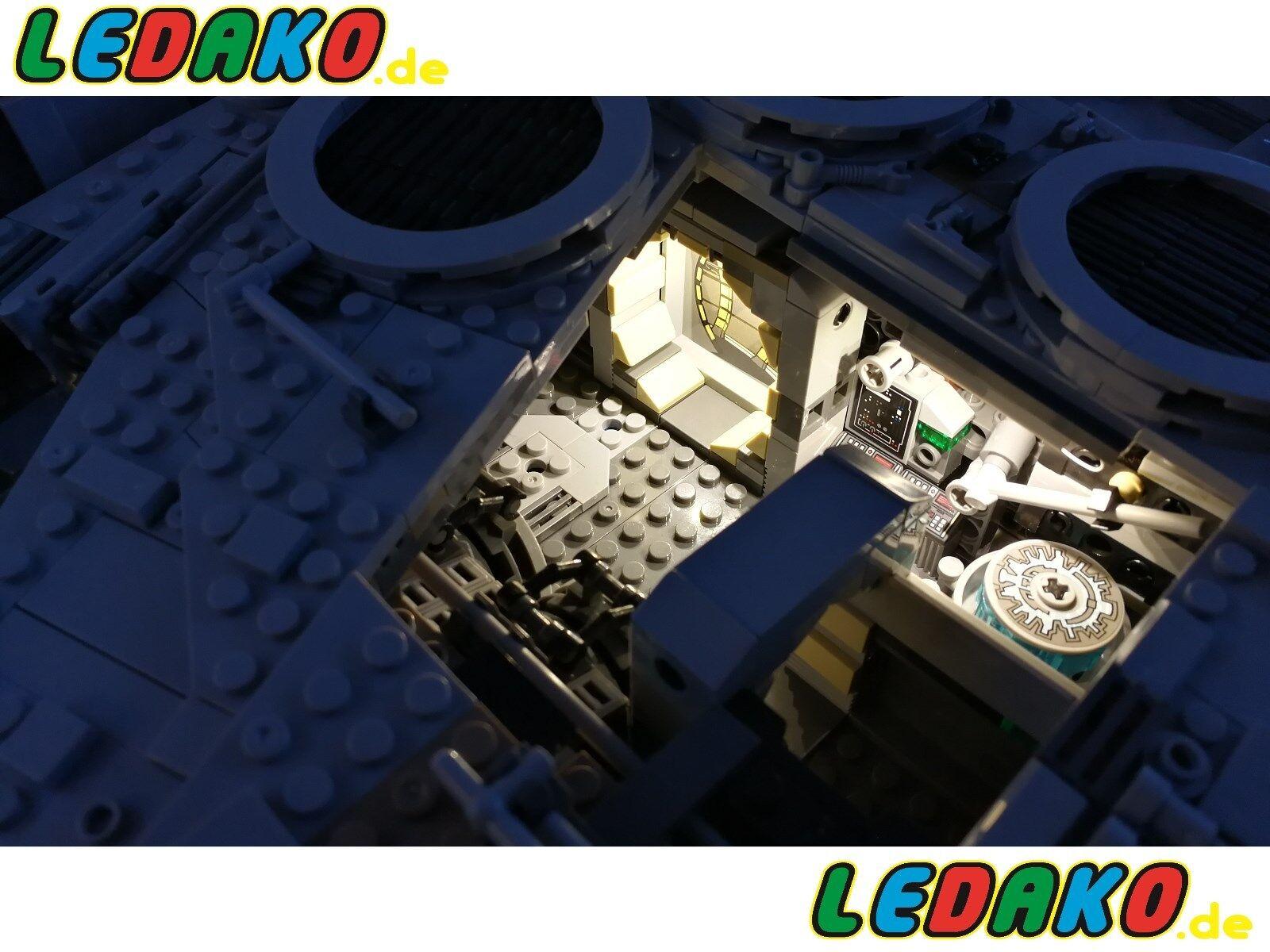 Beleuchtungsset II (INNEN) für 75192 UCS Lego® Millenium Falcon Falcon Falcon LED Star Wars 5daedd