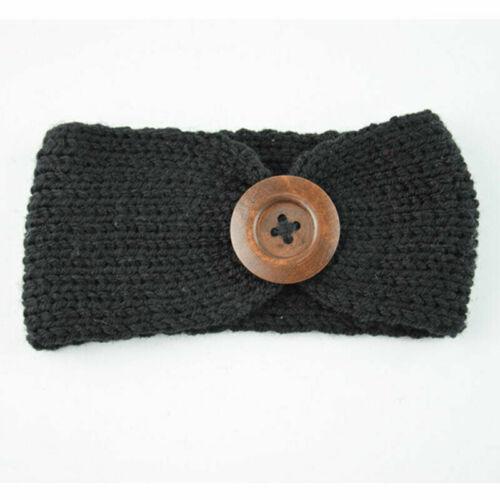 Baby Cotton Big Bow Tie Head Wrap Turban Top Knot Headband Newborn Girls infants