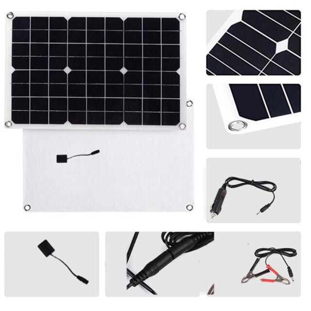 Controller Kit Campervan SELF BUILD CAMPER Flexible 20w Solar Panel Charger