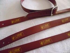 Original Steiff Zubehör Armband / Halsband mit Steiff Druck Rot