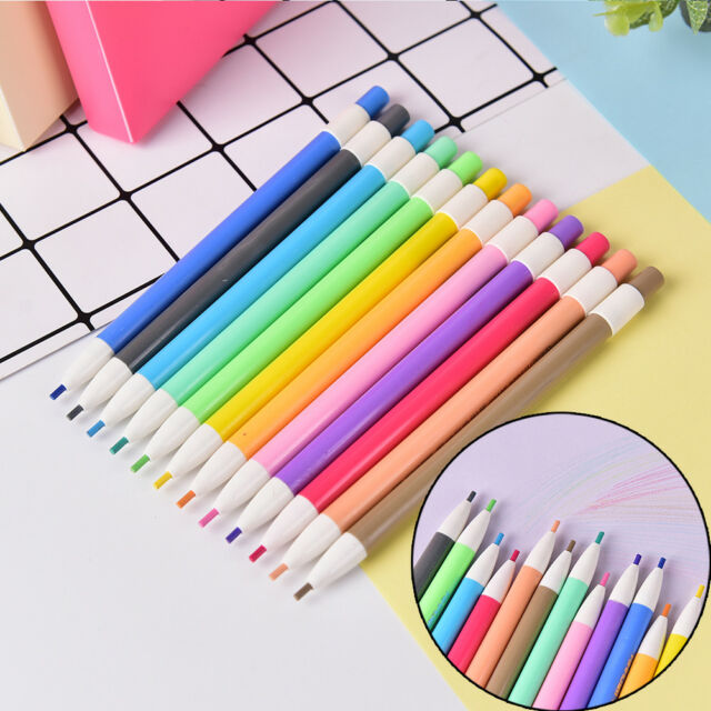 12Color Mechanical Pencil Built in Pencil Sharpener 2.0 mm Pencil Lead Refill HF