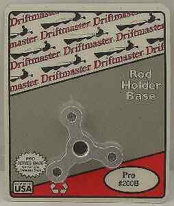 Driftmaster 200B 1/2 Star Base for Pro Rod Holder Aluminum 6335