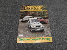 Toyota Land Cruiser FJ70 BJ70 HJ45 Light & Heavy Duty Accessores Brochure