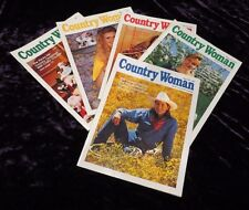 Country Woman Lot of 5 Issues Craft Project Food Farm Animals Recipes Garden