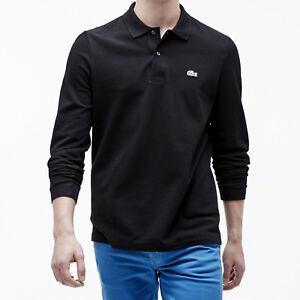 Lacoste Men's Classic Fit Long Sleeve Polo Shirt L1312-51 | eBay