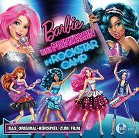 BARBIE - BARBIE EINE PRINZESSIN IM ROCKSTAR CAMP  CD NEU
