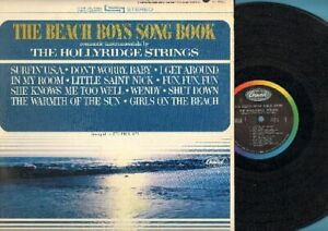 Hollyridge-Strings-The-Beach-Boys-Song-Book-Vinyl-LP-Record-Free-Shipping