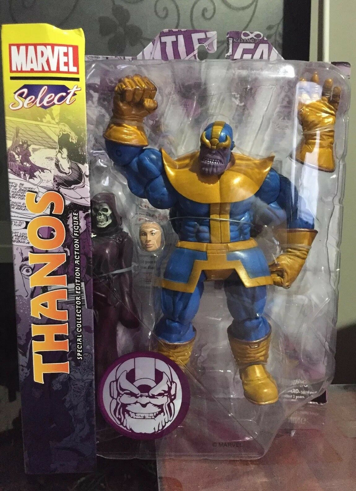 Marvel Select Thanos and Death Action Figure Sealed Diamond Select New