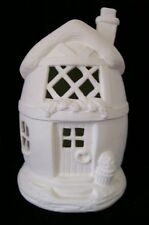 C-0093 Ceramic Bisque Ready to Paint EASTER EGG HOUSE