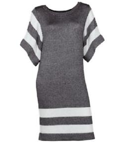 NEW Soybu Woherren Prisma Athletic Varsity Metalic Dress Dress Größe Large