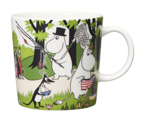 Moomin Seasonal Mug Summer 2018 Going on Vacation