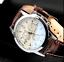 thumbnail 69 - Fashion Sport Men's Stainless Steel Case Leather Band Quartz Analog Wrist Watch